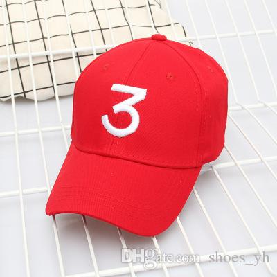 Top 2018 Hat Winter Men And Women Baseball Hat Embroidery Figures 3 solid color trendy couple bend Yan shade cap 2018