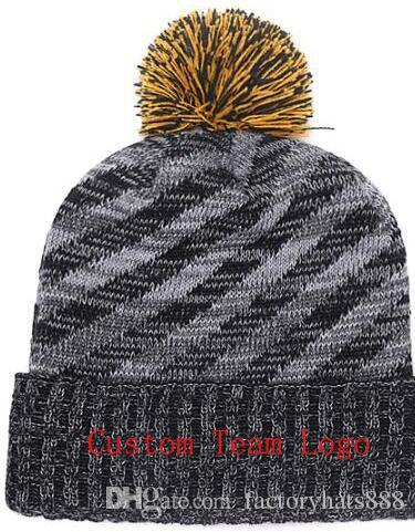 401e42c35c6f9 2019 Unisex Autumn Winter Hat Men Women Sports Hats Custom Knitted Cap  Sideline Cold Weather Knit Hat Soft Warm Pittsburgh Beanie Skull Cap  Trucker Hats ...
