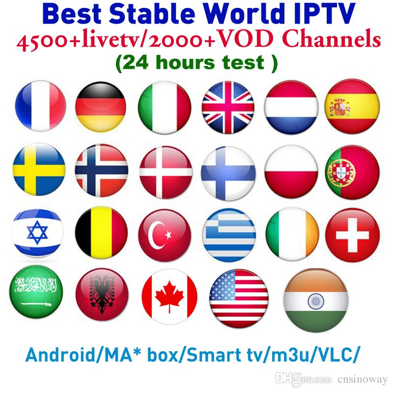 1 Year IPTV Subscription SINOTV APK on android mag 250 m3u Arabic IP TV  France Canada USA UK English Infian Turkey Lation channels