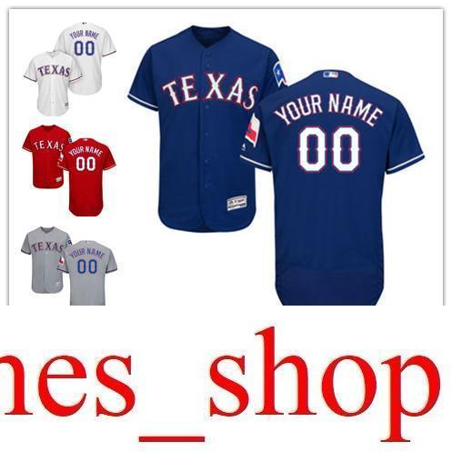 245891d69 2019 2016 Flexbase Custom Men S Ts Rangers Cool Base Authentic Collection  Personalized Double Stitched Baseball Jersey S 3XL From James shop
