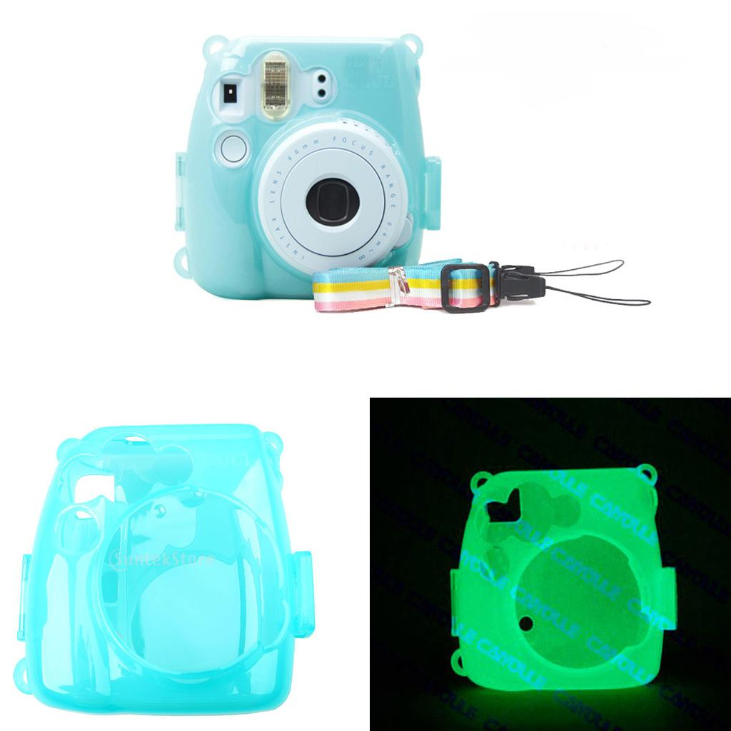 a642d6b21953 2019 Luminous Hard Case Protector Cover For Fujifilm Instax Mini 8 9 Camera  From Shuokai003,  16.15   DHgate.Com