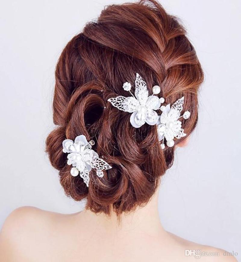 Pearls Bobby Pins Hairpins for Women Bridal Wedding Hair Pins Clips Girls Hairpins Wedding Dresses Bridal Headbands Hair Jewelry Accessories