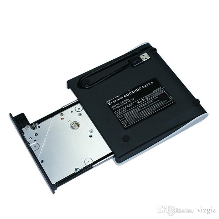 Portable USB 3.0 External DVD Drive Slim CD/DVD RW/ROM Rewriter Drives For Computer Windows 7/8 XXM8