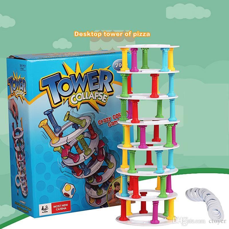 Best Quality Christmas Stem Desktop Game Pita Tower Fun Parent Child ...