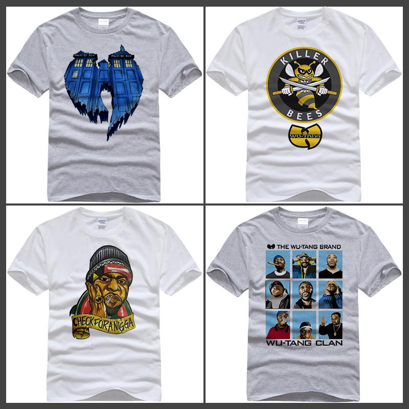 Grosshandel 2017 Neue T Shirt Marke Tops Wu Tang Clan Eiscreme T