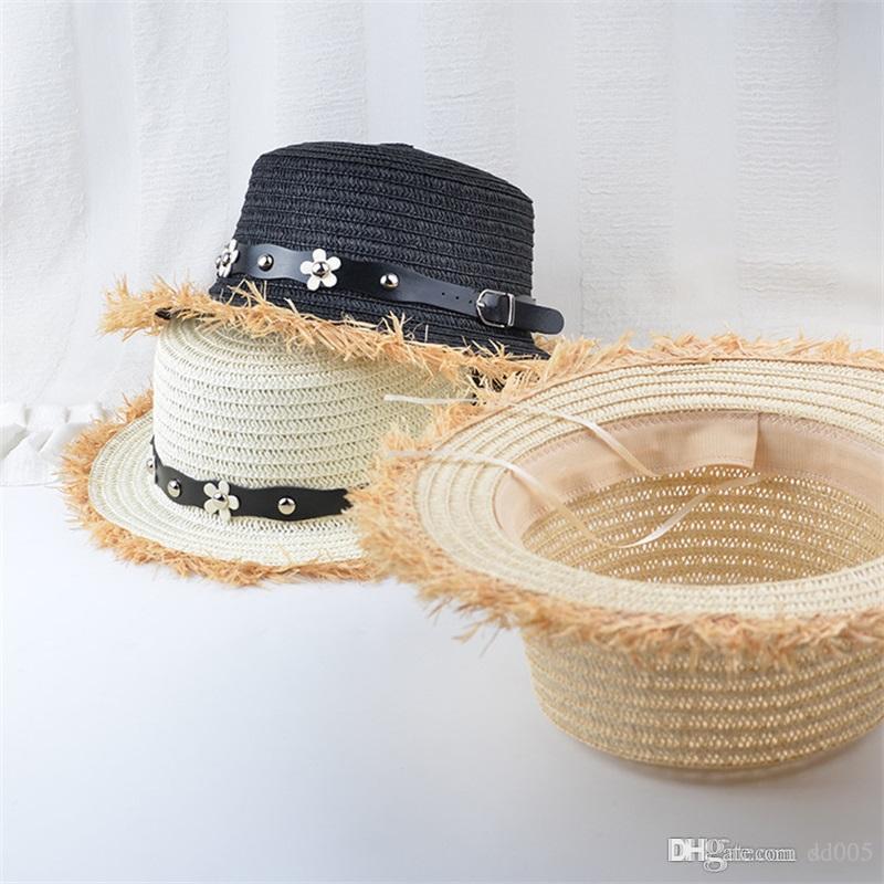 8a96ec2fc62 Hot Sale Wide Brim Sun Hats For Women Embroidery Straw Hats Girls Summer  Casual Beach Cap With Daisy Diamond Insert 9 5bg Jj Sun Hats Sun Hat From  Dd005