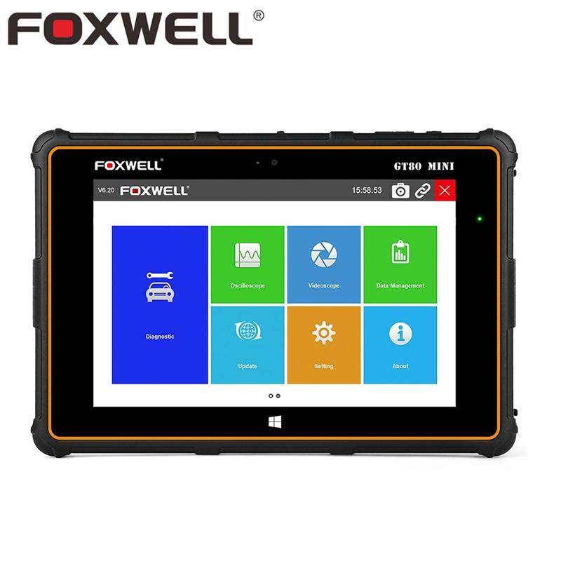 FOXWELL GT80 Mini Full System OBD OBD2 Car Diagnostic Tool Injector Coding  DPF Airbag SRS ABS TPMS Reset Auto Automotive Scanner
