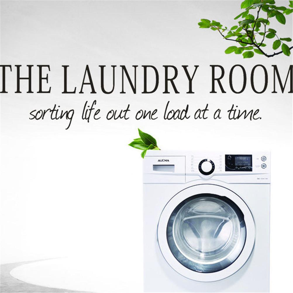 Wall Sticker The Laundry Room Quote Removable Decal Room Wall