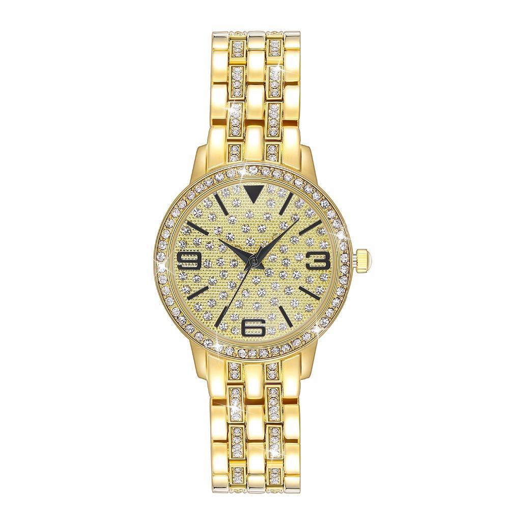 cd3d0e88743 Compre Moda Mulheres Relógios 2019 Novos Produtos De Cristal Pulseira De  Relógio À Prova D  Água Relógio Das Senhoras Relógio De Desenhador De  Nectarine99