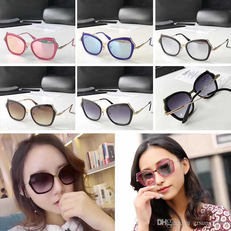 b3fdd55835 Luxury CH5023 Sunglasses For Women Design Fashion Sunglasses Wrap ...