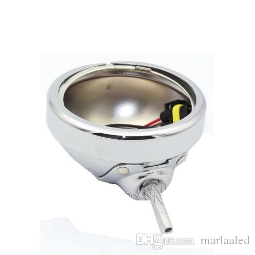 4.5 inch Housing Bracket Mount Ring bucket For Fog Passing Light Lamp Motorcycle Harley Touring ElectraChrome