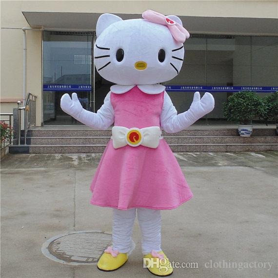 2018 hello kitty mascot costume pink dress for halloween party pig costume halloween costumes kids from clothingactory 22111 dhgatecom