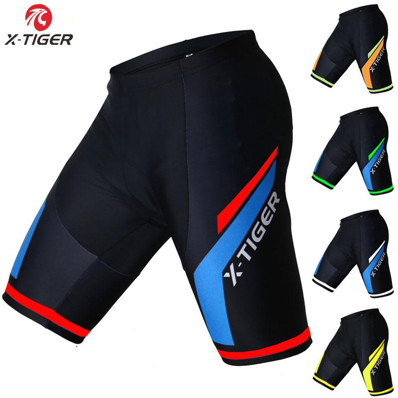 X-Tiger Coolmax 5D Padded Cycling Shorts Shockproof MTB Bicycle ... 741cc31a0