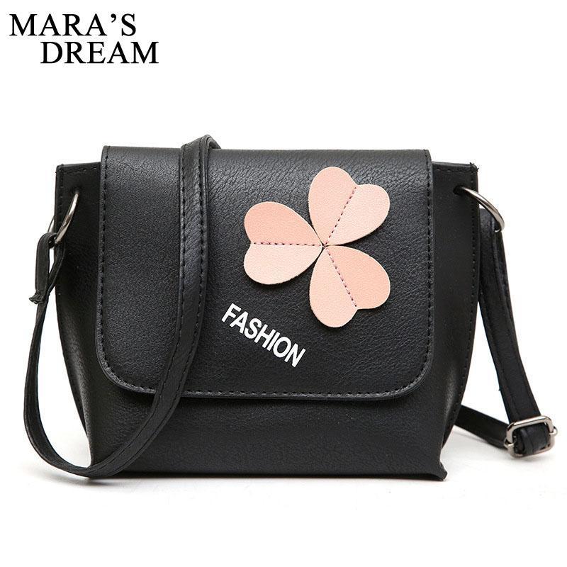 61a90e5ed3 Mara S Dream 2018 Messenger Bags Women Handbag Flower Women Shoulder Bags  Women PU Leather Tote Bag Ladies Bags Sac A Main Pink Handbags Travel Purse  From ...
