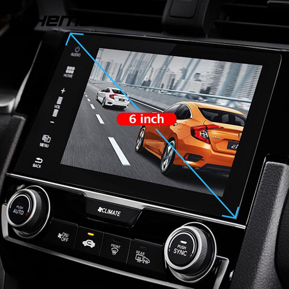 2018 Car DVD Protective Films  Mp5 Tempered Glass HD Anti-Scratch Clear Skins GPS Screen Protector Navigation