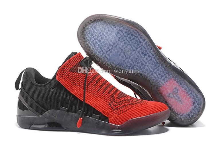Kobe 12 Men Basketball Shoes Kobe A.D EP Sneaker Shoe High Quality KB 12 XII  Mens Trainers Boots Black Red 40 46 UK 2019 From Wenyanlv d6e6e08ef