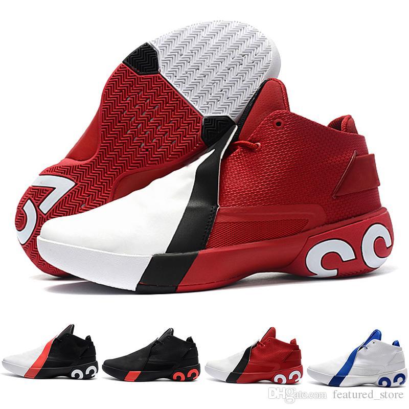 premium selection bf5eb 749c4 Acheter 2018 Nouvelle Arrivée Jimmy Butler 3.0 Chaussures De Basket Ball  Haute Qualité Blanc Noir Rouge Mens Chaussures Formateur Chaud Chaussures  De Sport ...