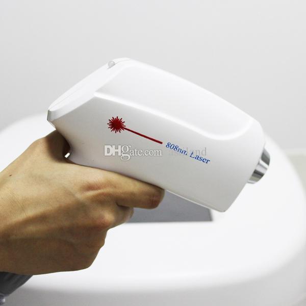 2019 più caldo 600W certificato Ce depilazione definitiva depilacion portatile 808 808nm macchina di rimozione dei capelli del laser a diodi
