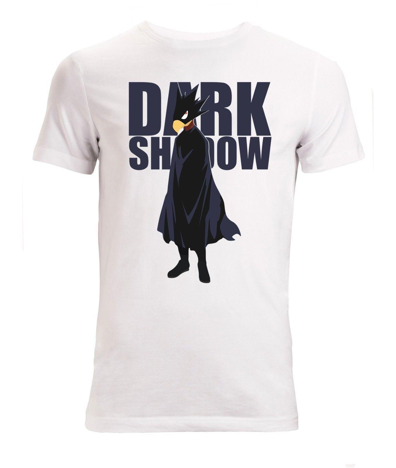 d547b3eb496 My Hero Academia Tokoyami Dark Shadow Men S Woman S Available T Shirt White  Cool T Shirt Online T Shirt 24 Hours From Activitytshirt