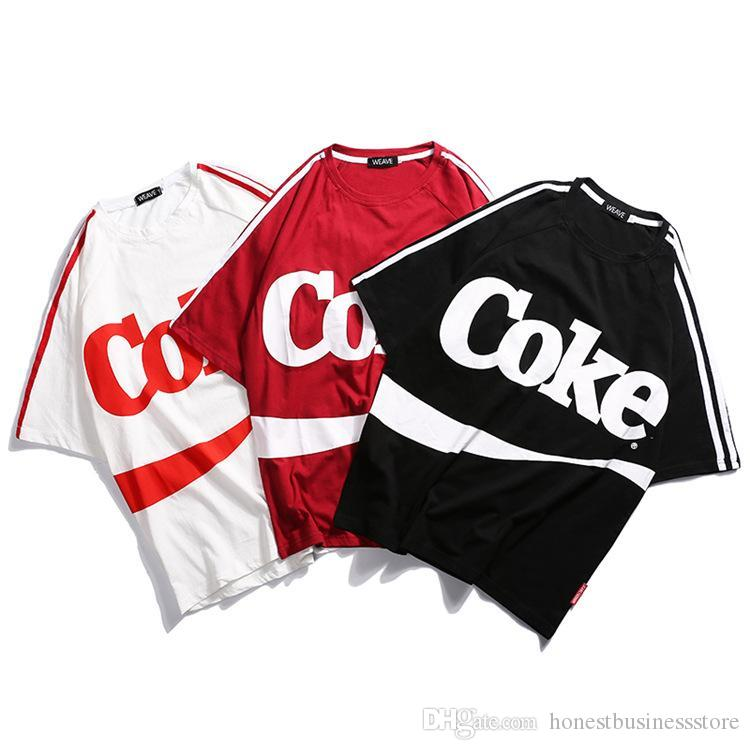 inf tshirts mens cool coke letters design fashion tops short sleeved tees clothes hilarious shirts funky t shirts online from honestbusinessstore