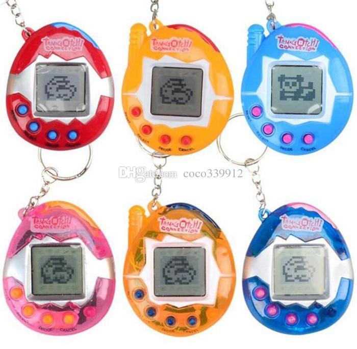 Pet elettronico Tamagochi Toys Vintage Virtual Pet Giochi di Cyber giocatore Tamagotchi Digital Pet Child Game player