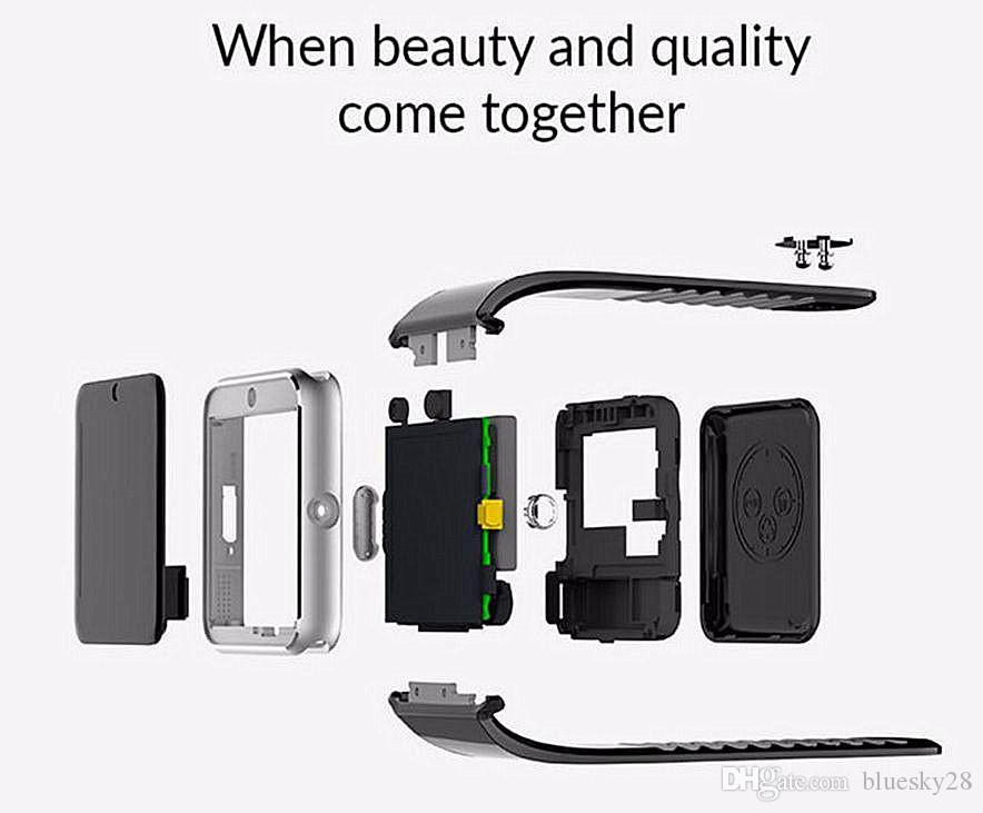 GT08 블루투스 패션 SmartWatch 안드로이드 내장 카메라 SIM 전화 지원 TF 카드 SMS GSM 응답 통화 음악 재생 PK DZ09
