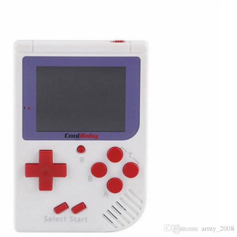 RS-6 Mini El Oyun Konsolu 8 Bit RS6 Retro Taşınabilir Oyun Oyuncu Istasyonu ile 2.5 inç LCD Ekran