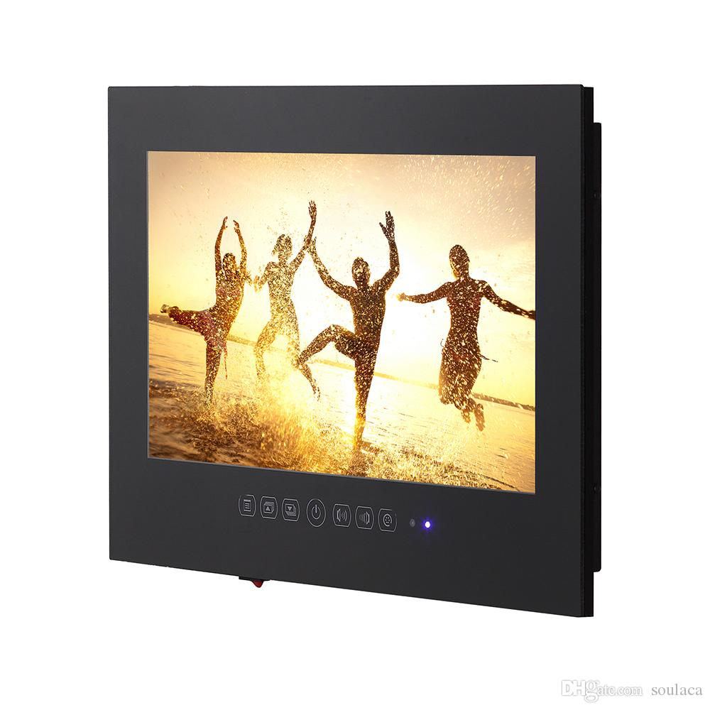 15.6inch Black Waterproof Led Tv Bathroom Complete To Install Flat Screen  Hd Frameless Led Tv Small Tv Tv 32 Led From Soulaca, $698.5| Dhgate.Com