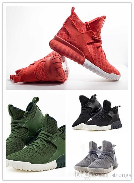 2018 New Ultra boost TUBULAR X PRIMEKNIT High Quality Mens Running shoes Men SPORTS shoes men Fashion sneaker outdoor athletic trainer 40-45 outlet wholesale price enjoy online ksATt1i7