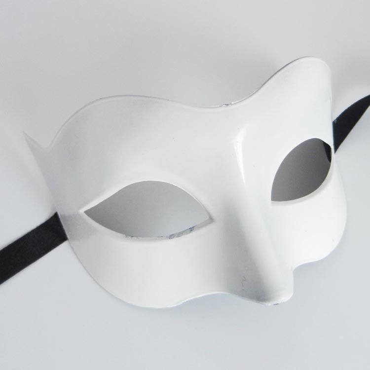 Transporte rápido dos homens lady Masquerade Máscara Fancy Dress Venetian Máscaras Masquerade Máscaras de Plástico Metade Máscara Facial Optiona Multi-colorl