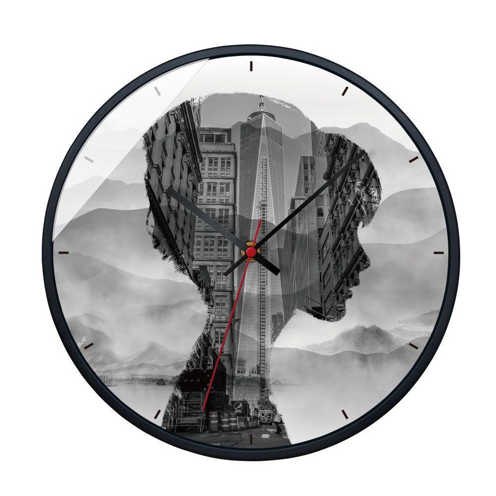 Große moderne Wanduhren Stille Quarz Kreative Figur Vintage Wanduhr für  Wohnzimmer Europa Home Dekorative Hängende Uhren
