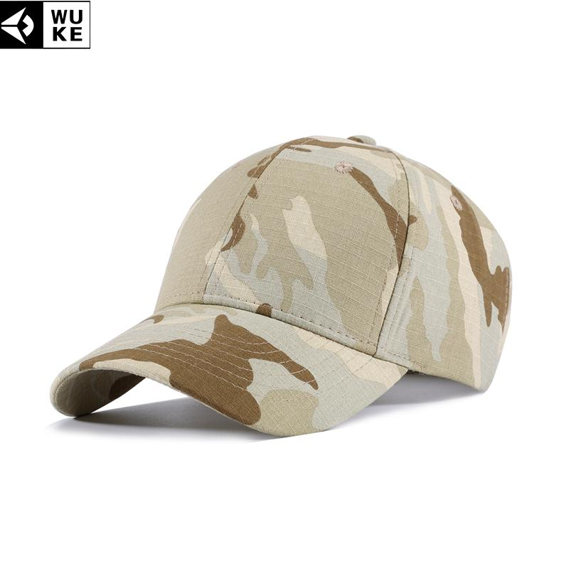 2e8ca082e02 WUKE Dad Hat Army CaBaseball Caps Men s Snapback Hats Gorras Militares  Hombre Sports Caps For Outdoor Camouflage Cap For Men Cheap Hats Richardson  Caps From ...
