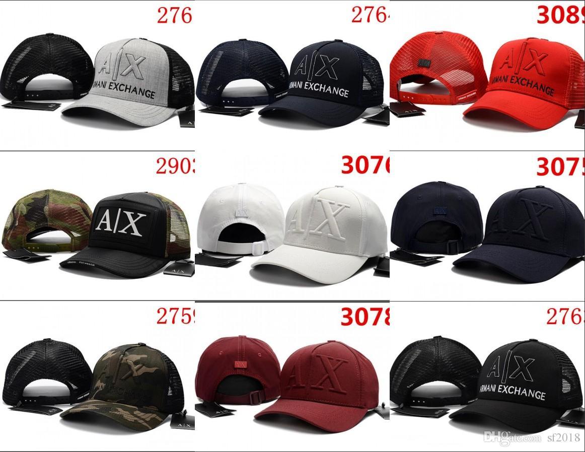 2018 Hot New Fashion AX Hats Brand Hundreds Strap Back Men Women ... 7ad1bb53f