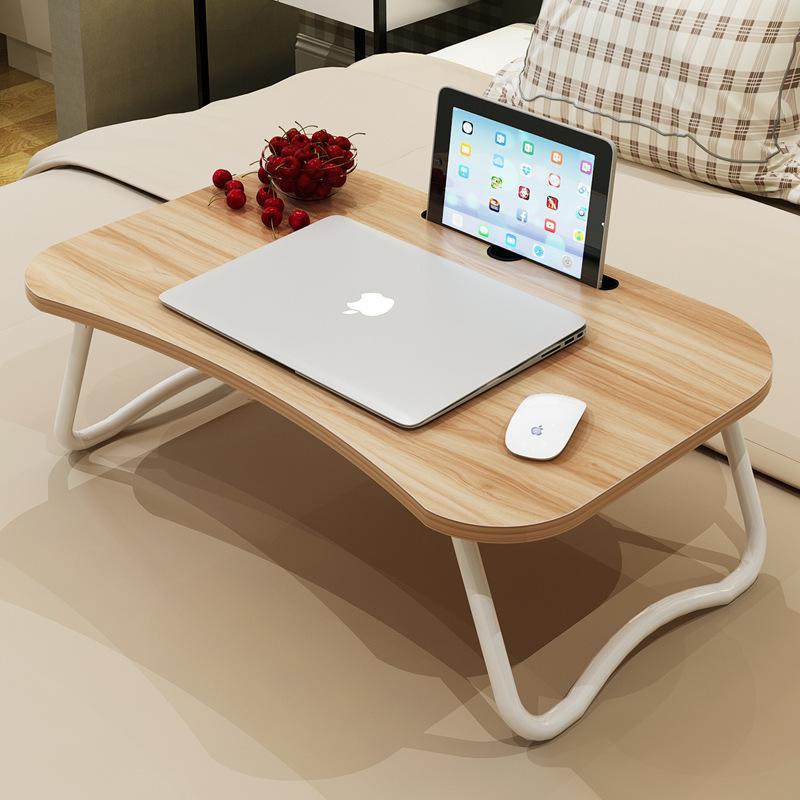Pliable Simple Sur Petite Avec De Paresseux Ordinateur Table Portable Dortoir Bureau Polyvalente Pour Lit KJ1Fcl