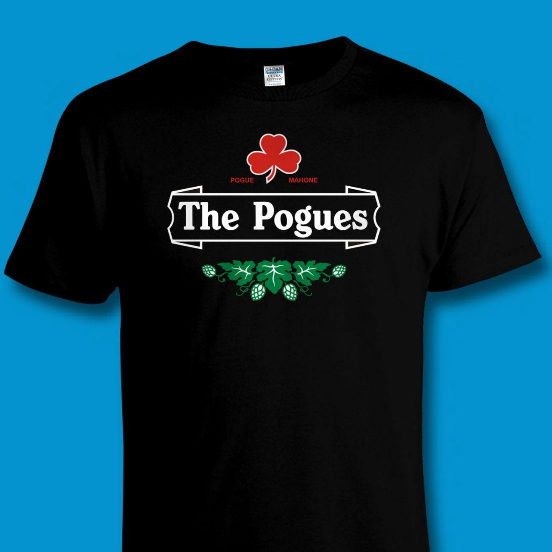 18fed194 Funny Irish Punk Music / 'the Pogues' Beer Mash - Up Tribute T Shirt Sizes  To 4xl New T Shirts Funny Tops Tee New Unisex Funny