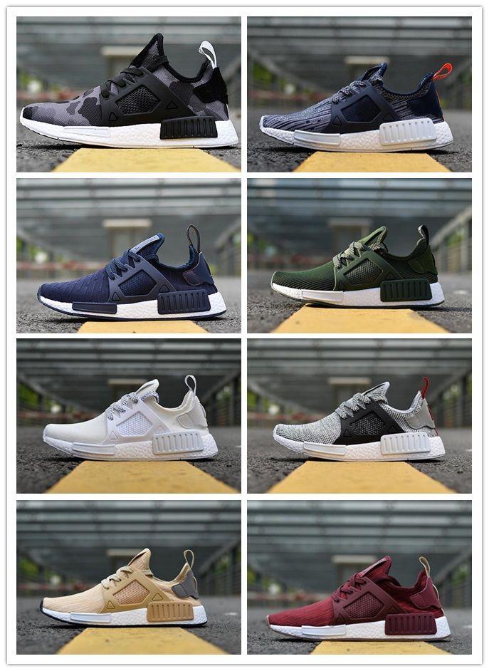 6c10c2453 2018 NMD XR1 PK Running Shoes Sneaker Men Women NMD XR1 Primeknit OG ...