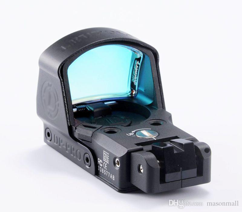 2018 LeuP 스타일 DP-Pro 마이크로 19211919 마운트 레드 라이플 Scots Tactical Gear Reflex 홀로그램 시야 도트