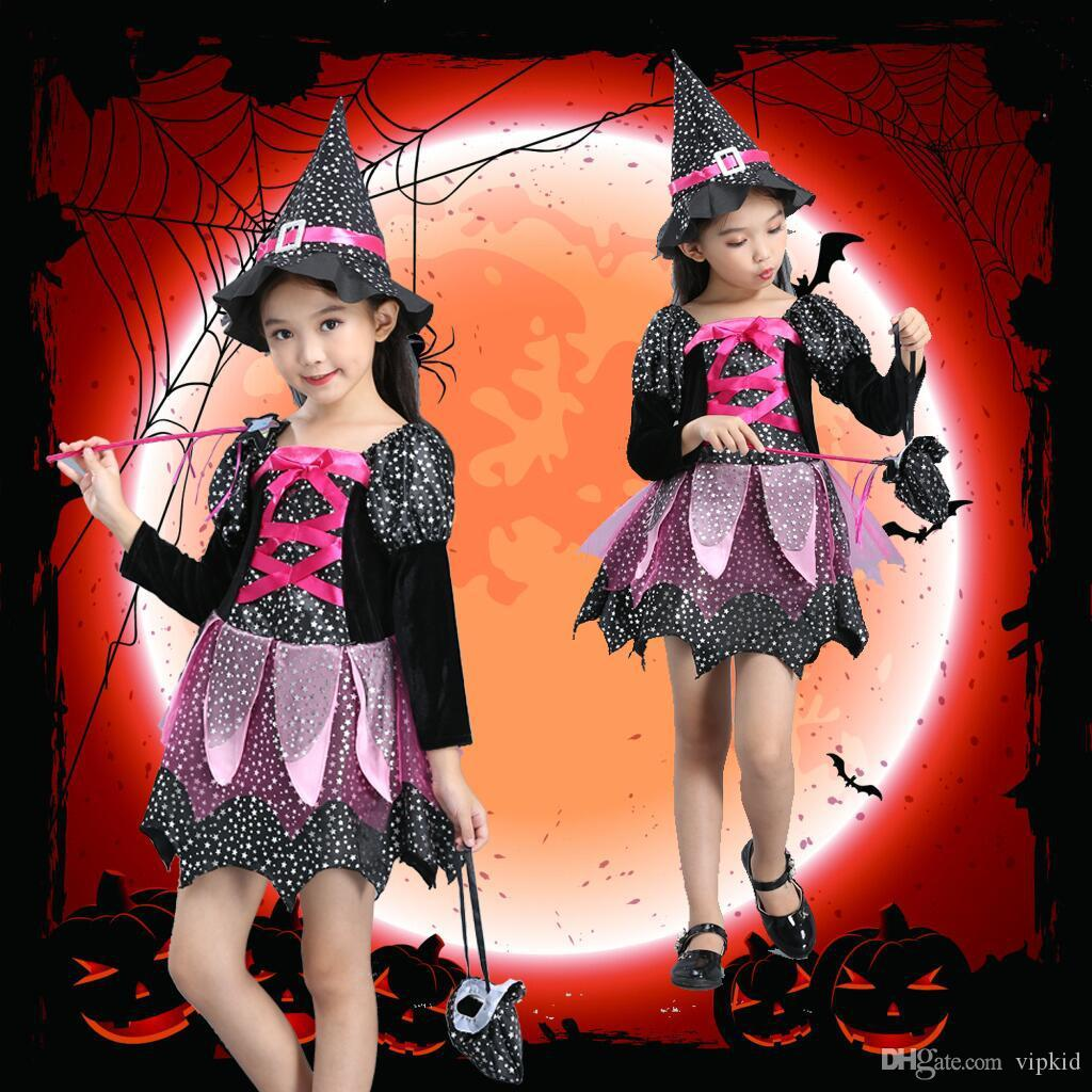 new halloween witch cosplay costume halloween witch girl costumes