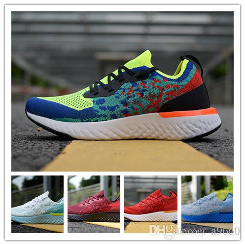 ba56971dc Women Running Shoes Epic React Fly Knit Trainers Mens Sports Fashion ...