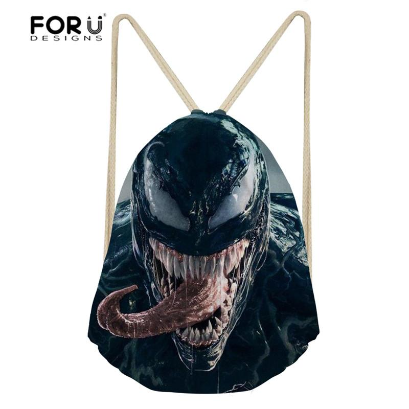 b8f520e17993 2019 FORUDESIGNS Venom 3D Film Printed Sport Bag Men Training Sports  Backpack Gym Sack For Male Sports Bags For Fitness Outdoor 2018 From  Mangosteeng