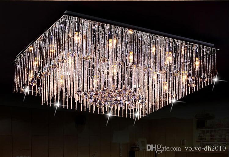 Plafoniere Con Pendenti : Acquista nuova plafoniera moderna a led con lampadario forma di