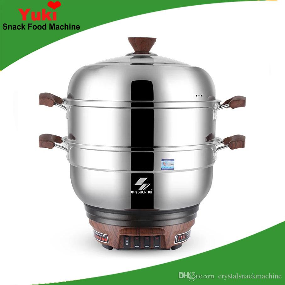 United Multifunctional Steamer 304 Stainless Steel Large Capacity Electric Food Steamers 3 Layers Energy-saving Electric Steamer 220v Cooking Appliances Kitchen Appliances