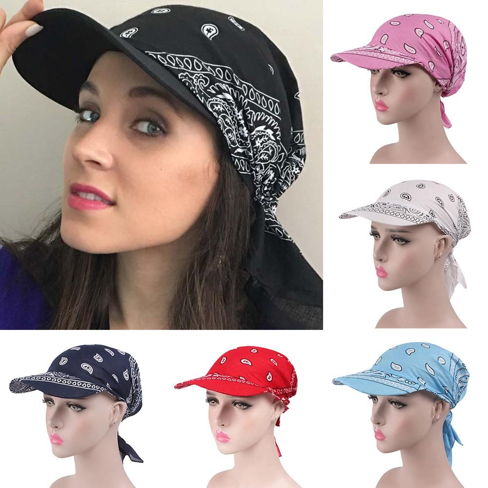 b1ed8dd9000 New Arrival Creative Printed Women India Muslim Retro Floral Cotton Towel  Cap Brim Baseball Hat Wrap High Quality Hot 35 Design Your Own Hat Make Your  Own ...