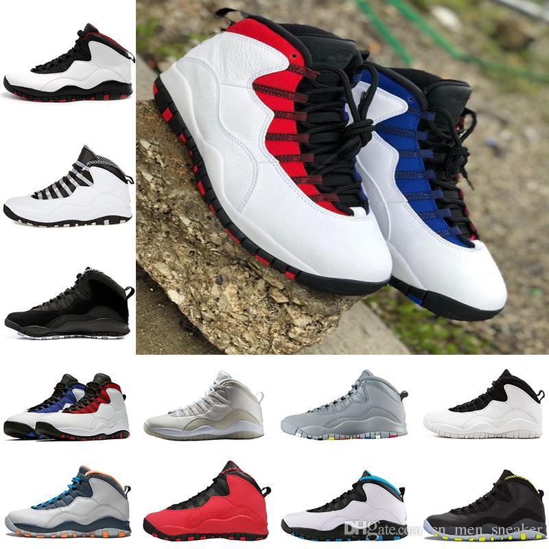 0b0563312b4ed6 New 10 Mens Basketball Shoes Steel Grey White Black 10S Trainers ...