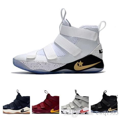 Compre 2018 Lebron James Baloncesto Casual Zapatos Lebron Mens James ...