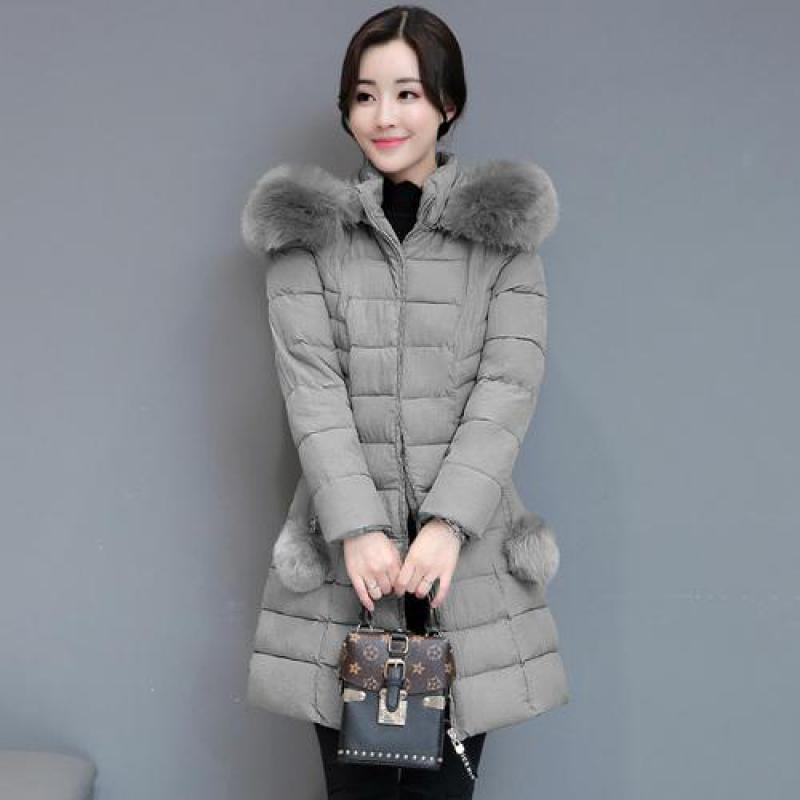 1fe348ce46c 2019 Harajuku Women Winter Cheap Parka New 2018 Autumn Winter Thick Warm  Plus Size Black Padded Jacket Ladies Medium Long Coats From Tuhua, $43.79    DHgate.