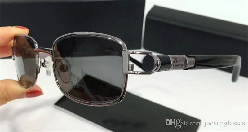 e50f349be1 New Fashion Designer Sunglasses 441127 Metal Small Square Frame Classic  Simple Hot Selling Style Uv 400 Polarized Driving Eyewear For Men Glasses  Online ...