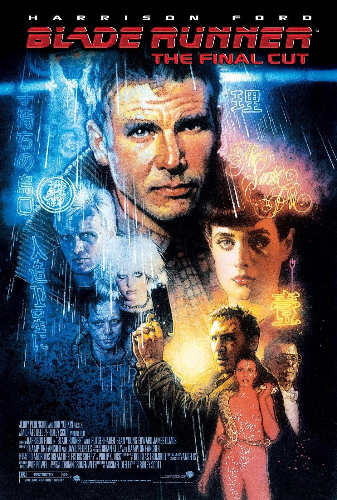 Image result for blade runner 1982 movie poster