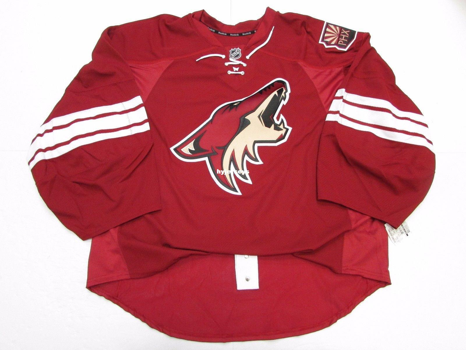 Cheap Custom PHOENIX COYOTES AUTHENTIC HOME EDGE JERSEY GOALIE CUT Mens  Stitched Personalized Hockey Jerseys Online with  67.46 Piece on  Hyjerseys s Store ... 7d28e7701