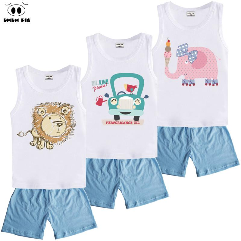 b9e7ffb6d0f9b DMDM PIG Boutique Kids Sports Clothes Suit Boys Toddler Girls Clothing Sets  Children s Baby Boy Girl Christmas Outfit 3 8 Years
